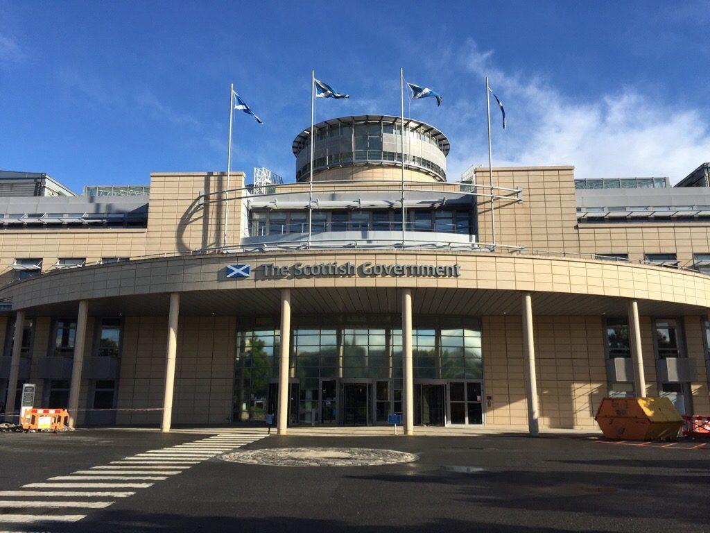 The Scottish Government, Edinburgh, Großbritannien